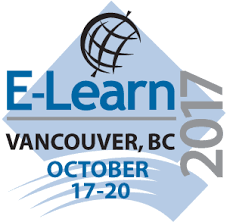 AACE E-Learn 2017 - World Conference on E-Learning - Association for the Advancement of Computing in Education