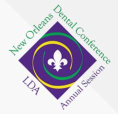 2017 New Orleans Dental Conference (NODC) & LDA Annual Session - Louisiana Dental Association