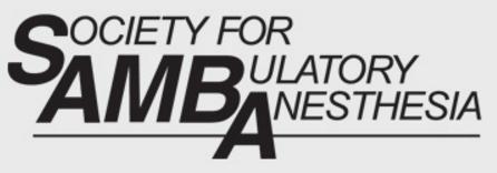 SAMBA 32nd Annual Meeting - Society for Ambulatory Anesthesia