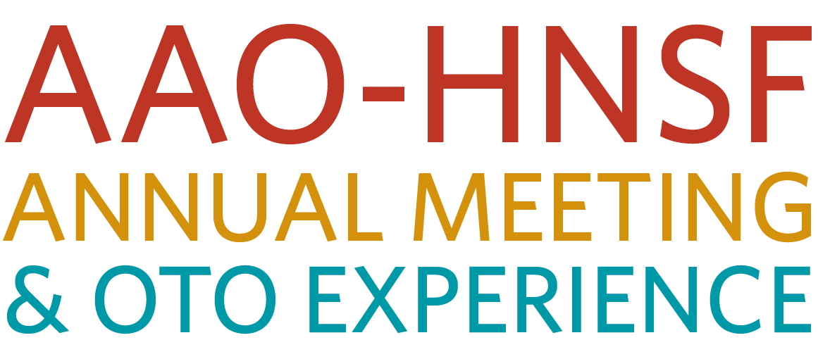 AAO-HNSF Annual Meeting & OTO Expo 2017 - American Academy of Otolaryngology - Head & Neck Surgery
