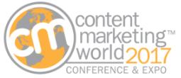 CMWorld 2017 - Content Marketing World