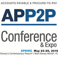 APP2P Accounts Payable & Procure-to-Pay Conference & Expo - Spring 2017