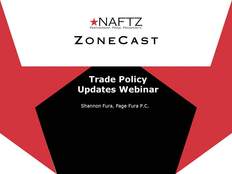 Trade Policy Impacts Webinar