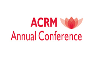 ACRM 95th Annual Conference, Progress in Rehabilitation Research (PIRR) - American Congress of Rehabilitation Medicine