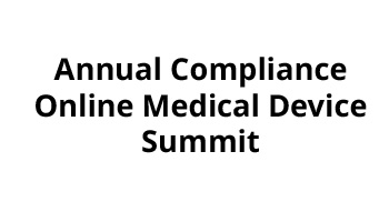 3rd Annual ComplianceOnline Medical Device Summit 2017