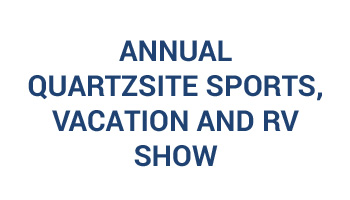 37th Annual Quartzsite Sports, Vacation And RV Show