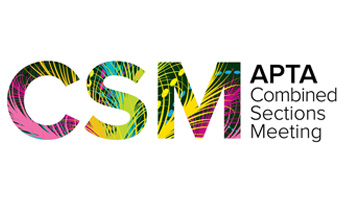 CSM - Combined Sections Meeting - American Physical Therapy Association