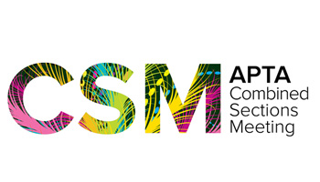 APTA CSM (Combined Sections Meeting) - American Physical Therapy Association