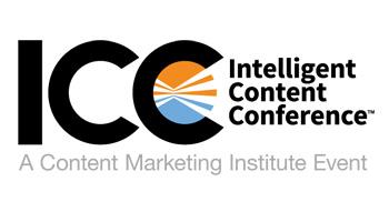 2018 ICC - Intelligent Content Conference