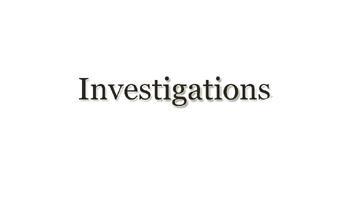 GMP Investigations