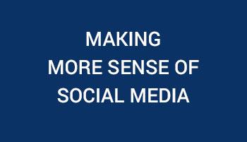 Making More Sense of Social Media