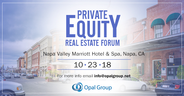 Private Equity Real Estate Forum