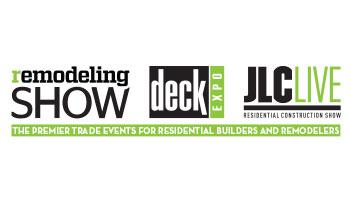 R|D|J 2017 - Remodeling Show | DeckExpo | JLC LIVE