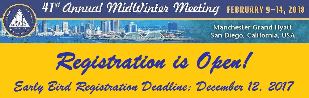 ARO Annual MidWinter Meeting - Association For Research In Otolaryngology