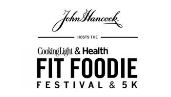 John Hancock Hosts The Cooking Light & Health Fit Foodie Festival & 5K