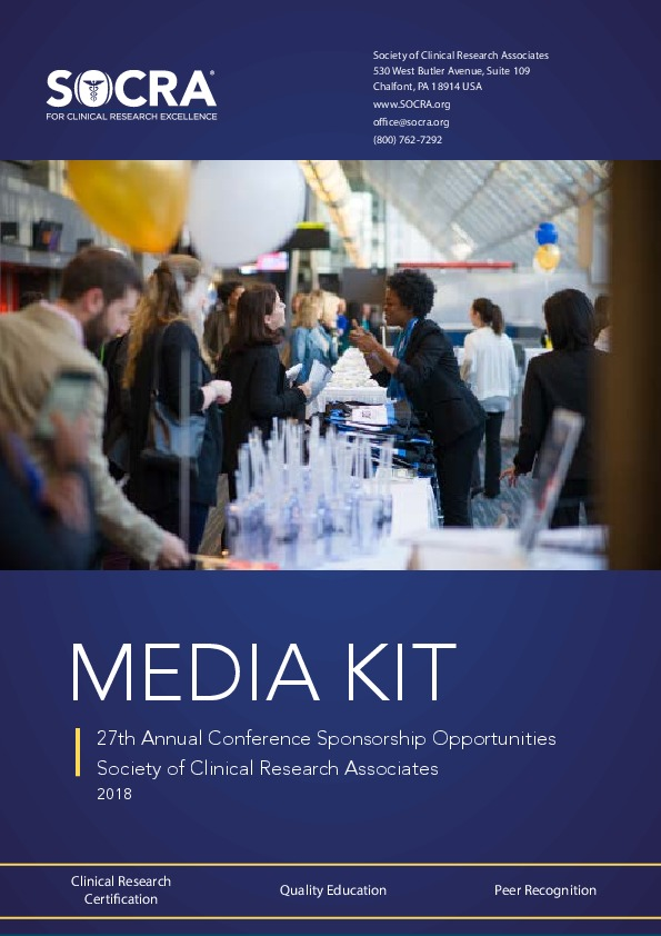 Events Socras 27th Annual Conference Society Of Clinical