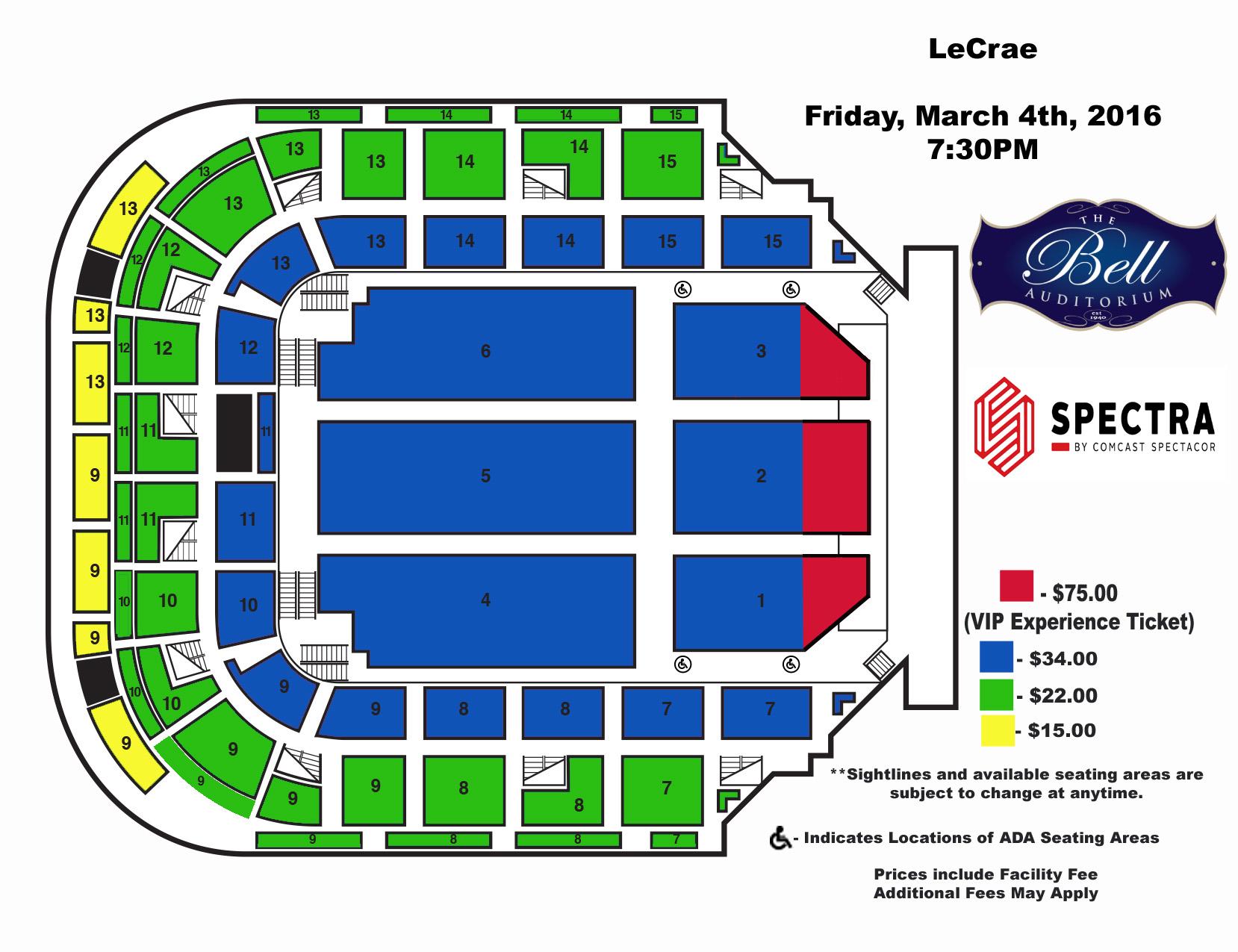 Venues - James Brown Arena - Bell Auditorium