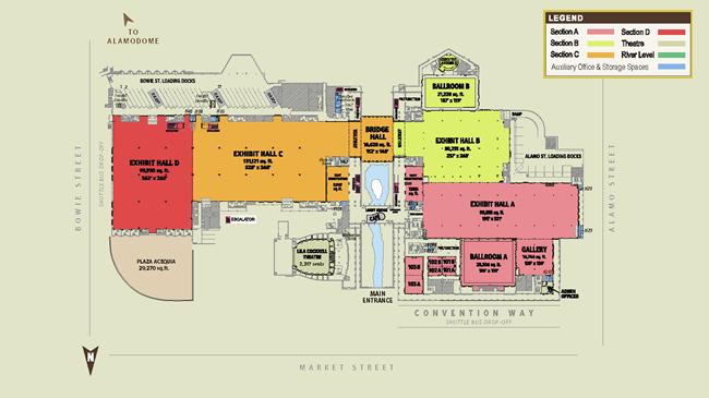 Henry B Gonzalez Convention Center Floor Plan on Las Vegas Floor Plans