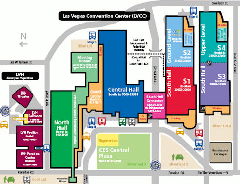 Venues   Las Vegas Convention Center