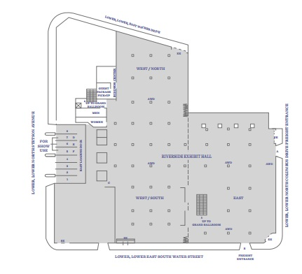 Hyatt Regency Atlanta Floor Plan Pictures, Downtown Atlanta Wedding
