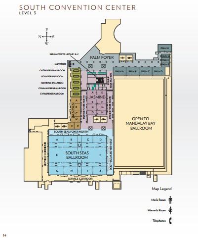 Venues - Mandalay Bay Convention Center